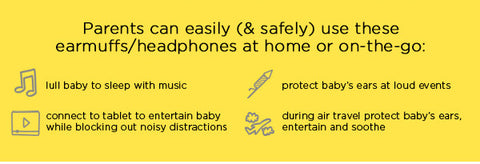 Protect and Connect with BanZ Safe 'n Sound earBanZ