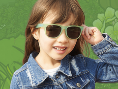 Banz Junior Banz JBANZ Chameleon Color Changing Sunglasses for kids - Polarized Sunglasses for Kids