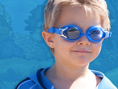 Banz Uv Swim Goggles - Anti fog Swim Goggles for Kids - Poll, Beach, Swimming Lessons
