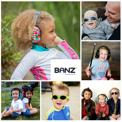 Banz Hearing and Sun Protection for babies and kids