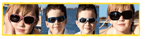 JBanZ sunglasses for Kids