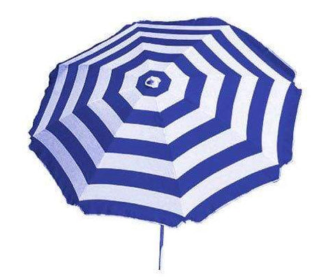 BANZ Global Umbrella Royal Stripe SHELTA Noosa Beach Umbrella SHELTA001a