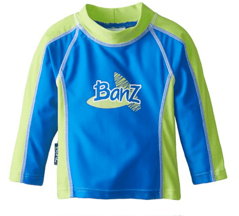 BANZ Rashguards 00 / Blue-Green Baby Long Sleeve Rashguards RL_BG_00