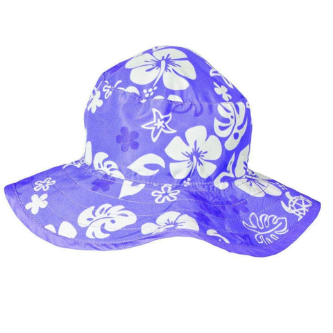 BANZ Sun Hat Baby 0-24 mo / Purple Sea Turtle Baby Reversible Sun Hats (Retiring) HRB008