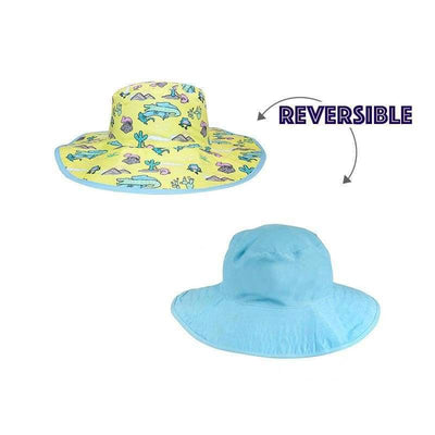 BANZ Sun Hat Baby Sun Hats - Reversible Kawaii Designs