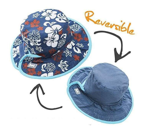 BANZ Sun Hat Baby Sun Hats - Reversible Patterns
