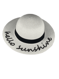 BANZ Sun Hat Childrens Straw Sunhat