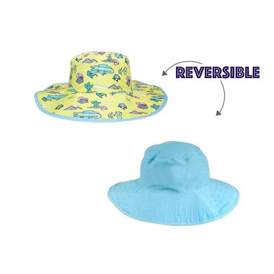 BANZ Sun Hat Childrens Sun Hats - Reversible Kawaii Designs