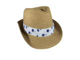 BANZ Sun Hat Small / Palm Tree Fedora Sunhat CHT44