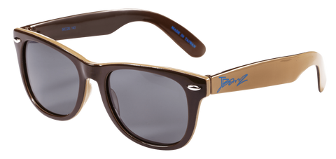 BANZ Sunglasses Brown/Tan Junior Banz® Dual Kids Sunglasses JBDCBT