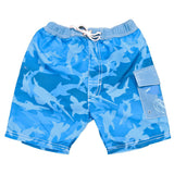 BANZ Swimsuit 2 / Fin Frenzy Pattern Boys 2-6 Boardshorts S13BS-FP-2