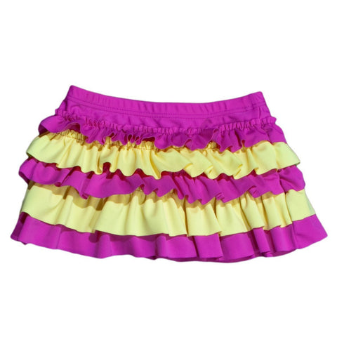 BANZ Swimsuit 2 / Stripe Ruffle Girls 2-4 Swim Skirts S13SK-SY-2