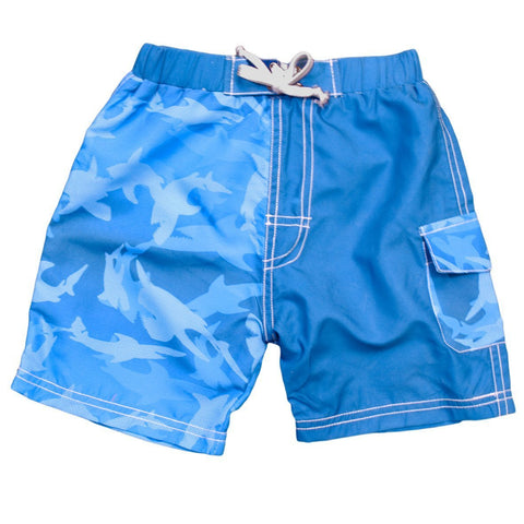BANZ Swimsuit 4 / Fin Frenzy Boys 2-6 Boardshorts S13BS-FS-4