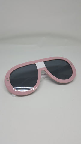 Pink Shield Sunglasses - Wynning