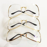 Rimless Butterfly Clear Glasses - Wynning