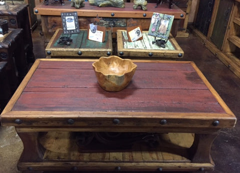 Primitive Coffee Table Set