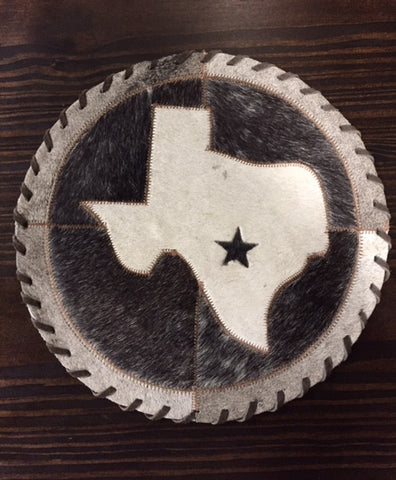 Texas with Star Cowhide Placemat