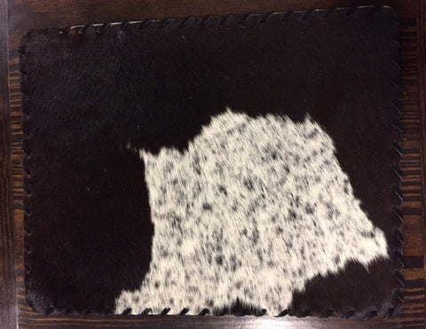 Laced Cowhide Placemat