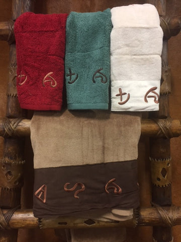 Three Piece Brands Bathroom Towel Set