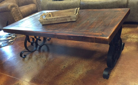 Heavy Iron Coffee Table Set