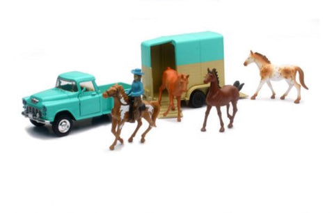 Turquoise Valley Ranch Truck Set