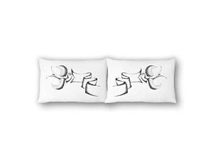 The Rise and Fall Swallows Pillowcase Set