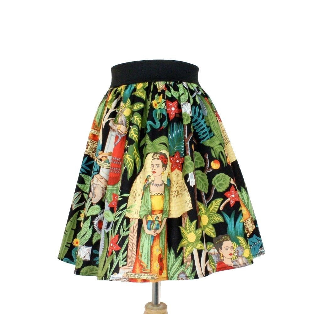 Hemet Clothing Frida Pleated Skirt