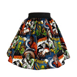 Hemet Classic Monsters Full Swing Skirt - Cool Hot Fashions
