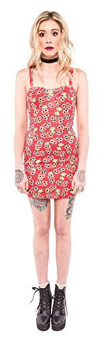 Women's Iron Fist Scary Cherry Dress Red