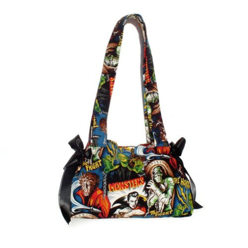 Hemet Horror Movie Hollywood Monsters Purse - Cool Hot Fashions