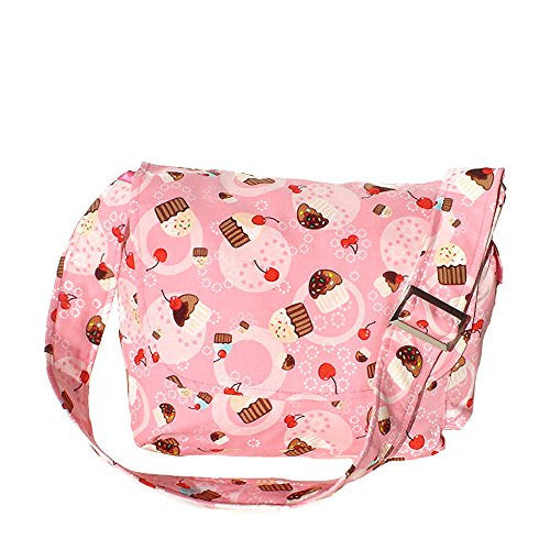 Hemet Cupcakes & Cherries Messenger Bag