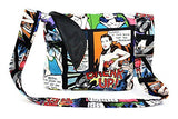 Hemet Comic Messenger Bag - Cool Hot Fashions