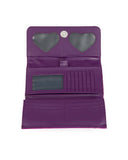 Lux De Ville Route 66 Wallet Electric Purple Sparkle