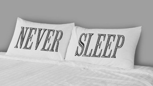 Rise and Fall RFB1293 Never Sleep Pillow Case Set
