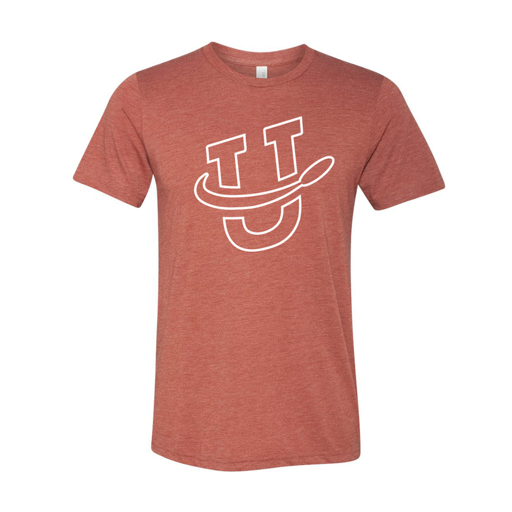 UDisc Logo Triblend Tee in Clay