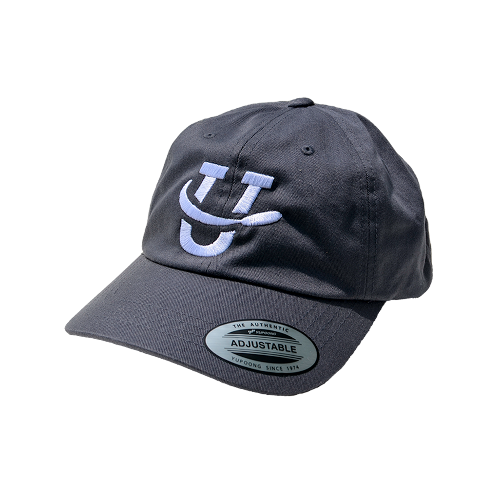 UDisc Adjustable Dad Hat - Gray