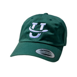 UDisc Adjustable Dad Hat in Spruce Green
