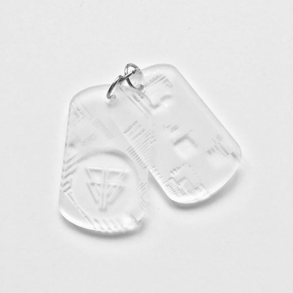 NEW - Glyph Dog Tags