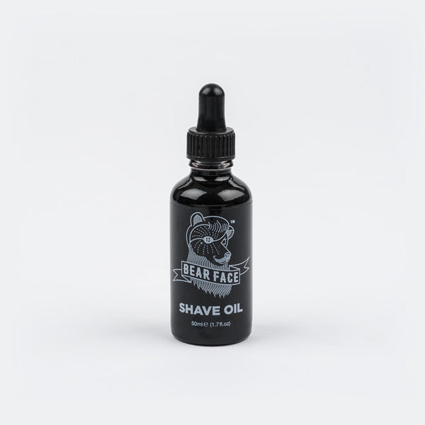 Bear Face shave oil