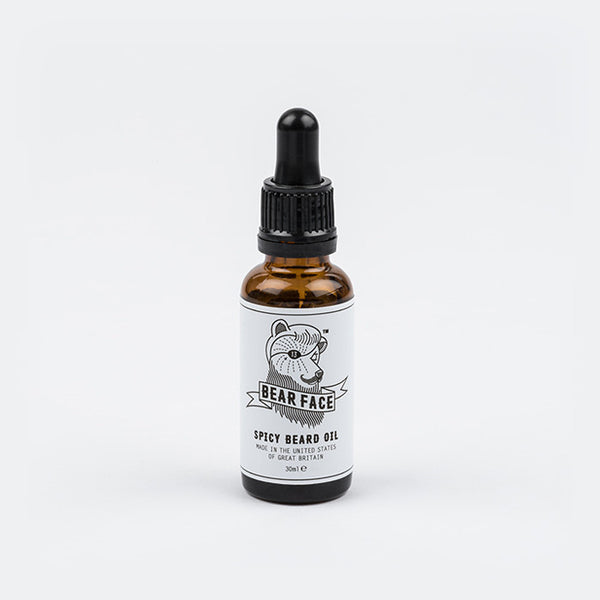 Bear Face Beard Oil - Spicy fragrance