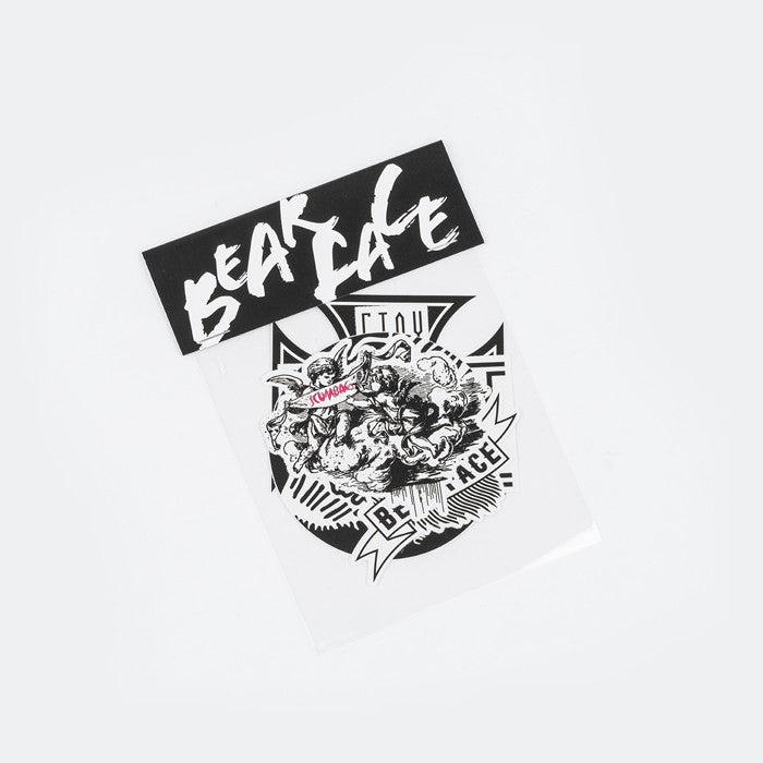 Bear Face Sticker Set