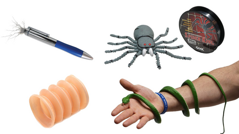 Bone Popper + Shock Pen + Epic Snake and Spider Pranks | Buy Prank Kits