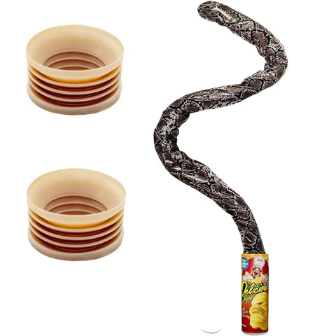 Magic Spring Snake Prank +  2 Bone Poppers | Buy Prank Kit