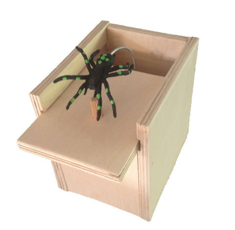 Spider Scare Box Gift Card Box