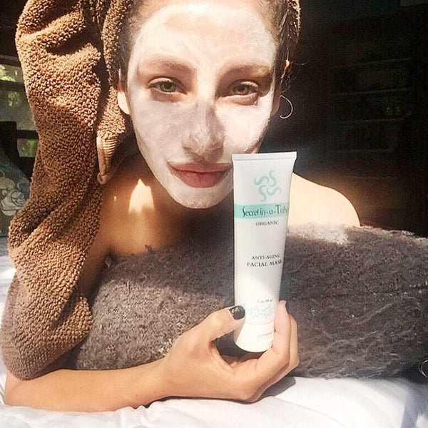 Secret in-a-Tube Organic Anti-Aging Facial Mask