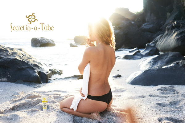 Secret in-a-Tube Organic Sunscreen