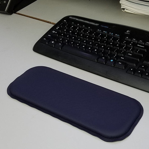 "ULTRAGEL® ""Gaming"" Arm/Elbow/Wrist Rest Gel Pad by a computer"