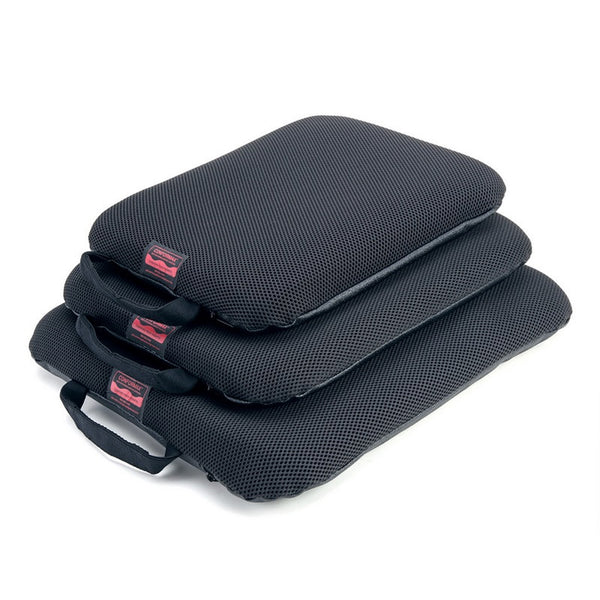 Portable gel seat cushion with size options