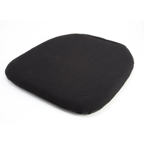 Comfortable, black gel seat cushion