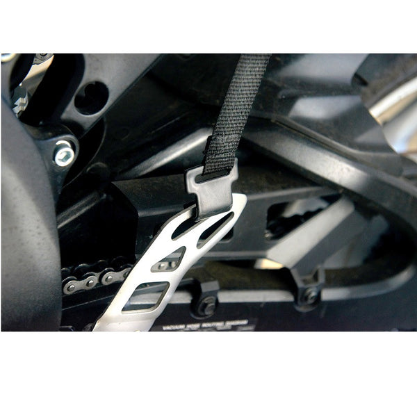 CONFORMAX™ ULTRA-FLEX™ Motorcycle Gel Seat Cushion strap and buckle